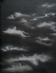 Night sky, 2016,   60 x 80 cm